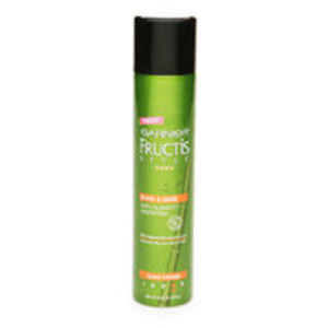 Garnier Fructis Style Sleek and Shine Anti-Humidity Hairspray, Ultra Strong