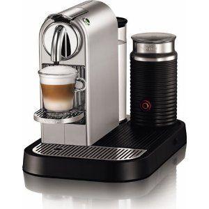 Nespresso CitiZ & Milk Espresso Machine D120