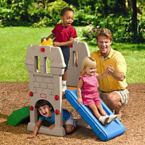 Little Tikes Castle Climb n Slide