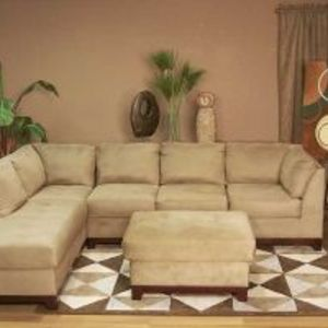 Stratford Upholstery Main Event Mocha Sectional