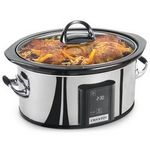 Crock-Pot 6.5-Quart Programmable Touch Screen Slow Cooker