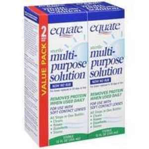 Equate (Walmart) Multi-Purpose Solution for contacts