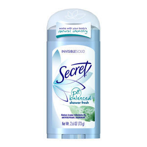 Secret Original Invisible Solid - Shower Fresh