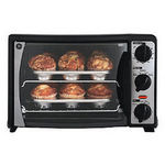GE 6-Slice Convection Toaster Oven with Rotisserie