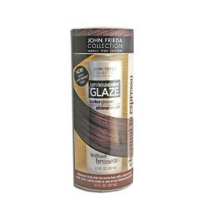 John Frieda Brilliant Brunette Luminous Color Glaze for Chestnut to Espresso