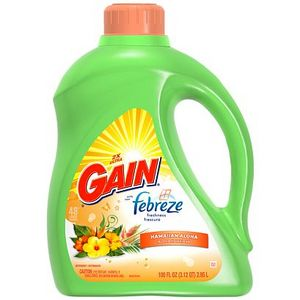 Gain with Febreze Freshness Hawaiian Aloha Liquid Laundry Detergent
