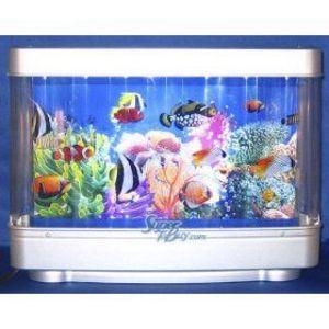 Fish aquarium reviews marineland half moon 10 gallon for Fish tank review