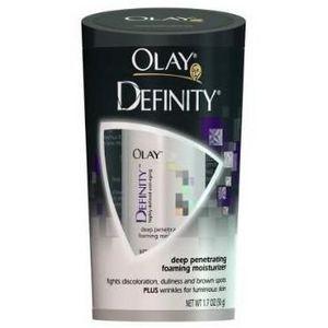 Olay Definity Deep Penetrating UV Foaming Moisturizer SPF 15