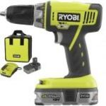 Ryobi 18 Volt Lithium Battery Compact Drill
