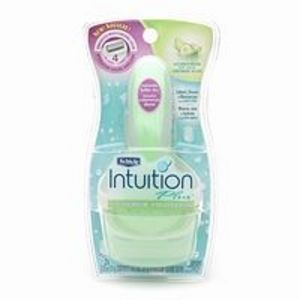 Schick Intuition Razor for Women Cucumber Melon