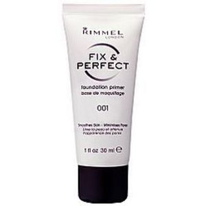 Rimmel London Fix & Perfect Foundation Primer - All Shades