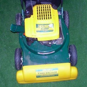 Yard Man by MTD Yard Vacuum