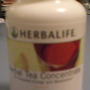 Herbalife Herbal Tea Concentrate Lemon 3.53 ounces