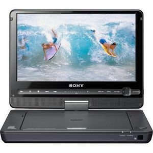 Sony - DVP- in. Portable DVD Player with Screen