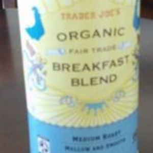 Trader Joe's Organic Breakfast Blend Whole Bean Coffee