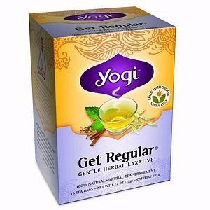 Yogi Tea Get Regular, Made with Organic Senna