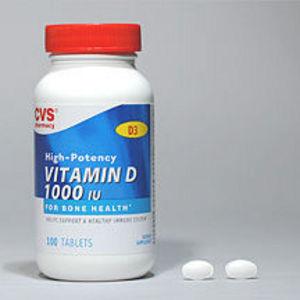 CVS Brand Vitamin D 1000 units