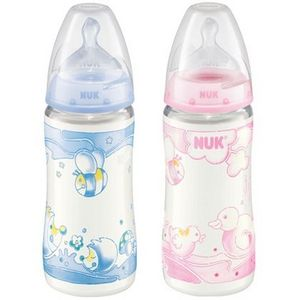 NUK First Choice Glass Baby Bottles