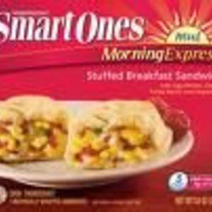 Weight Watchers Smart Ones Morning Express Stuffed Breakfast Sandwich