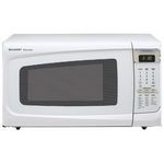 Sharp 1100 Watt 1.4 Cubic Feet Carousel Microwave Oven R-402B/ 402JW/ 402JK