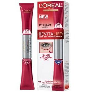 L'Oreal Advanced RevitaLift Deep-Set Wrinkle Repair 24HR Eye Repair Duo