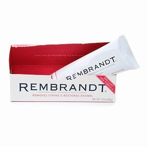 Rembrandt Whitening Intense Stain Toothpaste with Fluoride