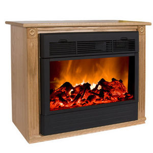 Heat Surge Amish Roll N Glow Electric Fireplace Reviews