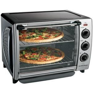 Hamilton Beach 6 Slice Convection Toaster Oven with Rotisserie