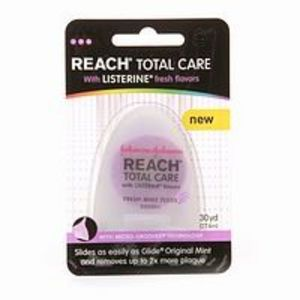 Reach Total Care Floss With Mint Listerine