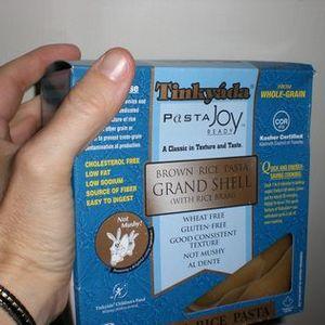 Tinkyada Brown Rice Pasta Grand Shell (with Rice Bran)