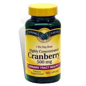 Spring Valley Cranberry Dietary Supplement