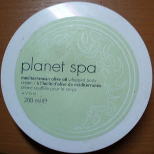 Avon Planet Spa Mediterranean Olive Oil Whipped Body Cream