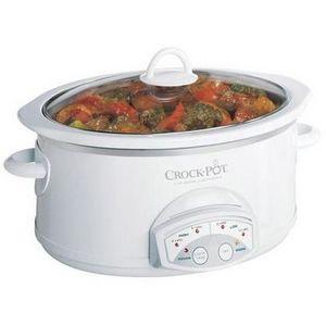Crock-Pot 5.5-Quart Oval Slow Cooker