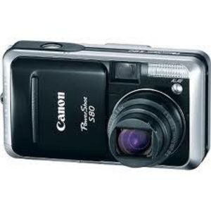 Canon - PowerShot S80 Digital Camera
