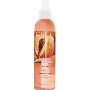 Avon Naturals Refreshing Peach Body Spray