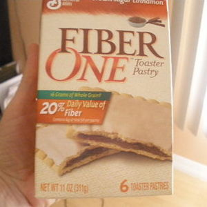 General Mills Fiber One Toaster Pastry