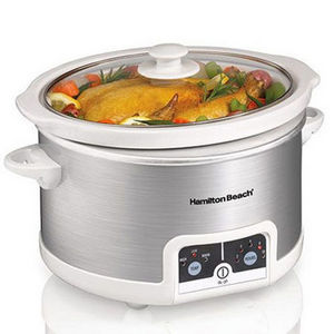 Hamilton Beach 4.5-Quart Programmable Slow Cooker