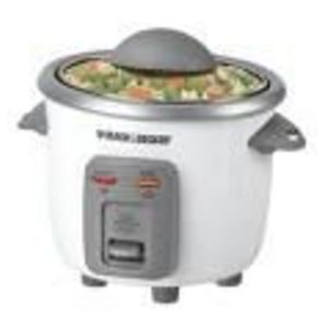Black & Decker 3-Cup Rice Cooker Model RC3303