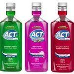 ACT Anticavity Flouride Mouthwash