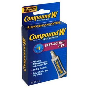 Compound W Gel wart remover