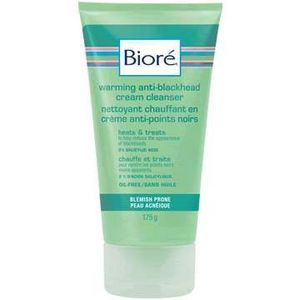 Biore Warming Anti-Blackhead Cream Cleanser