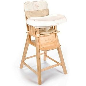 Eddie Bauer Eddie Bauer Wood High Chair 03033B4B
