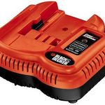 Black & Decker Fire Storm 9.6 Volt - 18 Volt Battery Charger