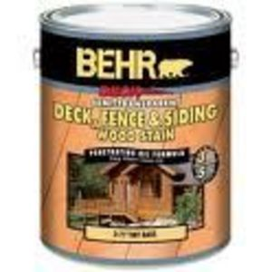 Behr Semi-Transparent Deck, Fence, & Siding Wood Stain