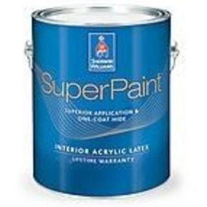 sherwin williams superpaint interior acrylic latex paint