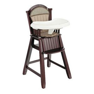 Eddie Bauer High Chair Eddie Bauer Wood High Chair 03033B4B