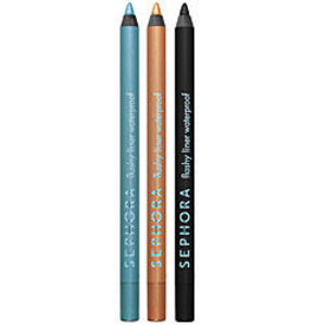 Sephora Flashy Liner Waterproof Eyeliner - Deep Black