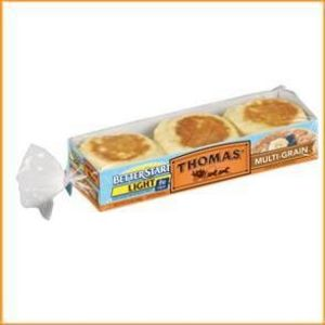 Thomas' Better Start High Fiber 100 Calories English Muffins