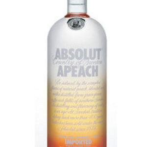 Absolut Peach Vodka
