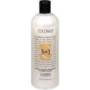 Lander Essentials Coconut 3-in-1 (Shampoo, Body Wash, Bubble Bath)